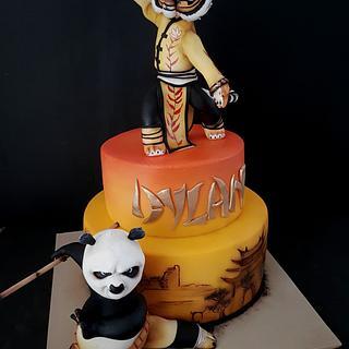 Kung fu panda!! - Cake by Cristina Sbuelz