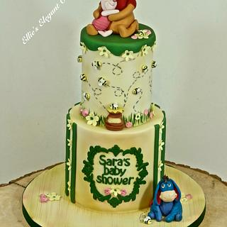 Winnie the pooh and Piglet baby shower :)