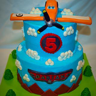 Planes Cake Dusty