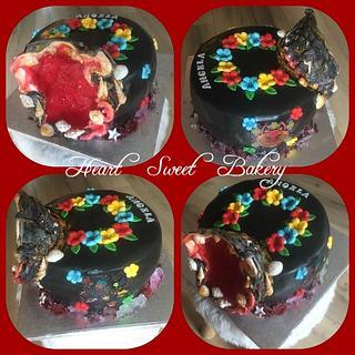 Sugarcrystal cake