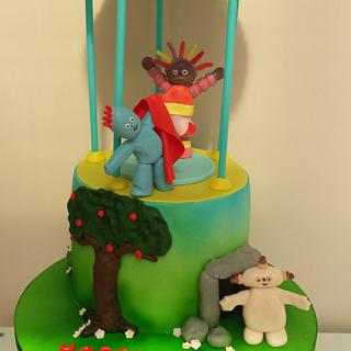 In the night garden cake xx