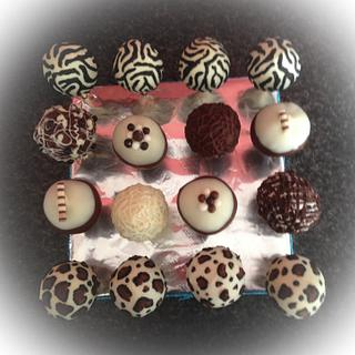 Animal-Print Cake-Pops