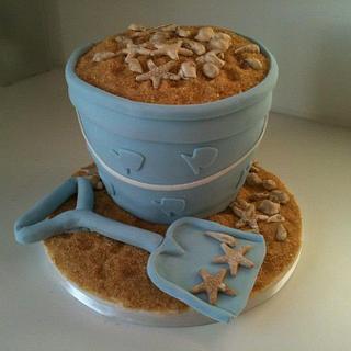 Bucket and Spade Cake
