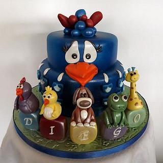 Brazilian Chicken Cake :)