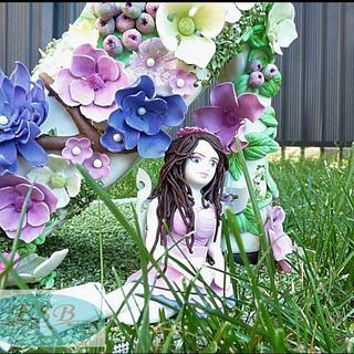 Woodland fairies collaboration