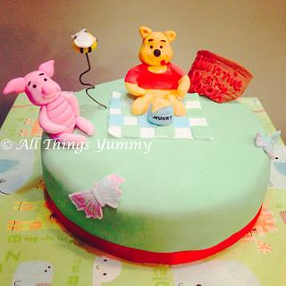 Winnie the Pooh! - Cake by All Things Yummy
