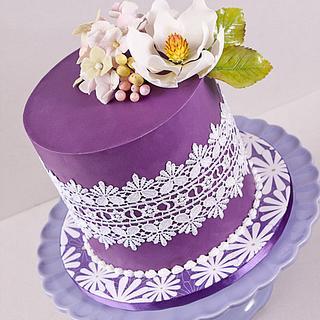 Purple & Magnolia