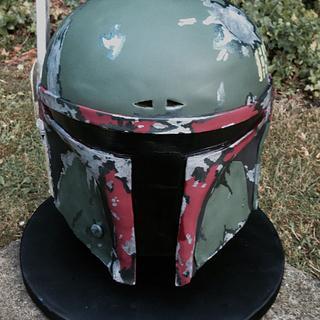 Star Wars Boba Fett Cake
