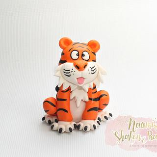 Handmade tiger topper