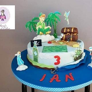 Peter pan cake  - Cake by elenasartofcakes