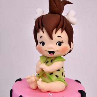 Pebbles Flintstones Cake