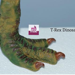 T-rex Dinosaur Feet