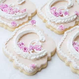 Royal Icing Lambeth Wedding Cookies