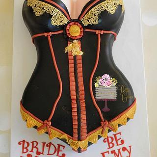 Bachelorette bride to be Cake