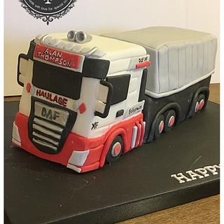 The Truck Cake
