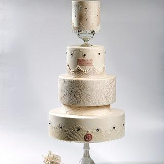 M&G Wedding Cake