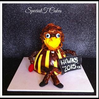 Hawks Grand Final Cake 2015