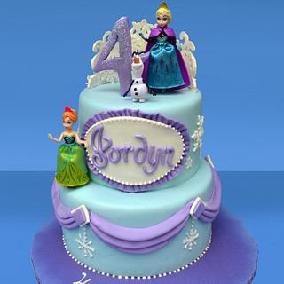Frozen Cake for Jordyn