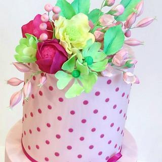 Sienna's Christening - Cake by Eleanor Heaphy