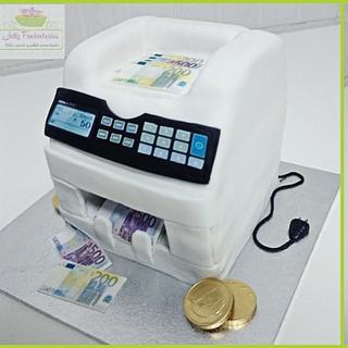 Money counter  - Cake by Jully Fondantartas