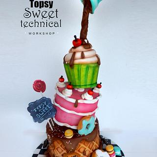 Topsy Sweet Technical
