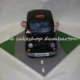 taxi wedding cake - Cake by mjh