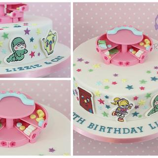 Polly Pocket and 1980s toys - Cake by Really Yummy
