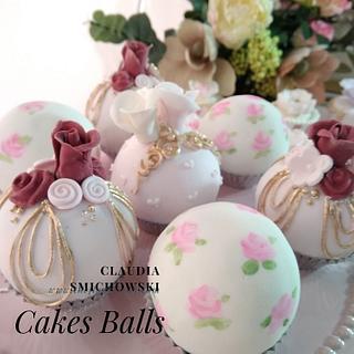 Mini round cakes