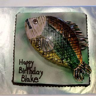 Bass - Cake by Dawn Henderson