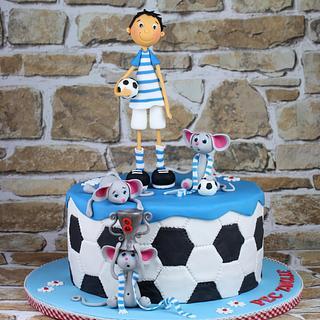 Imre loves football..... :-)