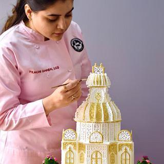 Petite Palace in Royal icing  - Cake by Prachi Dhabaldeb