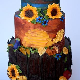 Fall - Cake by vivalabuttercream