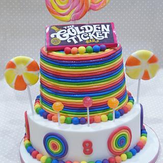 Willy Wonka rainbow