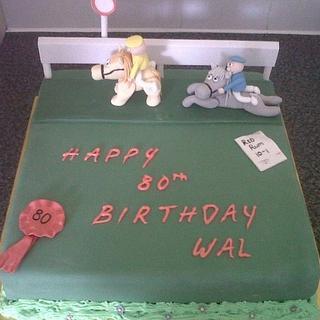 Remarkable Horse Racing 26 Cakes Cakesdecor Funny Birthday Cards Online Aboleapandamsfinfo