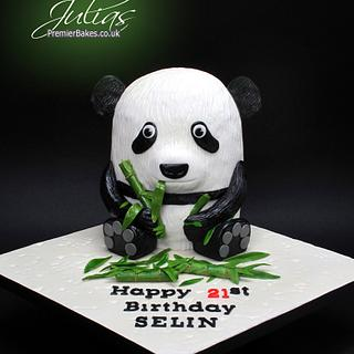 21st Birthday Panda Cake