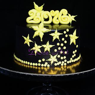 Happy New year 2016  - Cake by Magda Martins - Doce Art