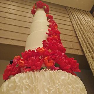 wedding cake giant - Cake by Rabarbar_cakery