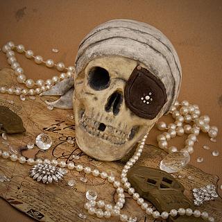 One-Eyed Willie (Goonies) Chocolate Skull