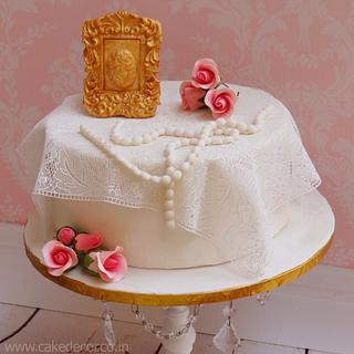 Vintage love - Cake by Prachi Dhabaldeb