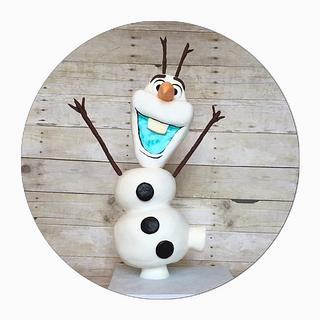 How To Make A Standing Olaf :) And My Finished Olaf!