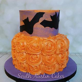 The Lovebats  - Cake by South Austin Cakes