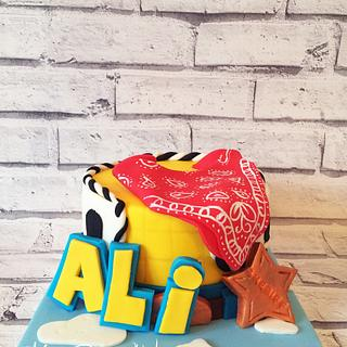 Toy Story Woody Inspired Cake - Cake by Leigh Medway