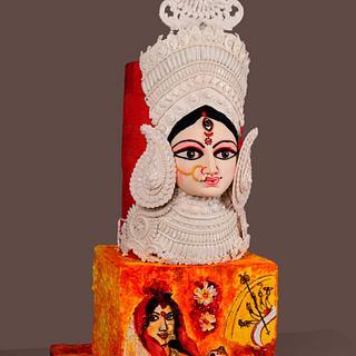 Mother Divine - Cake by Basabdatta Baidya