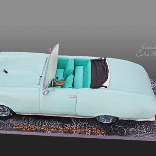 1967 Pontiac GTO Convertible Cake - Cake by Seema Acharya