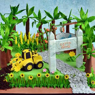 Farm cake ..  - Cake by Hima bindu