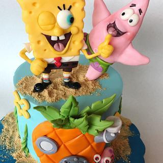 Sponge Bob Cake - Cake by Branka Vukcevic