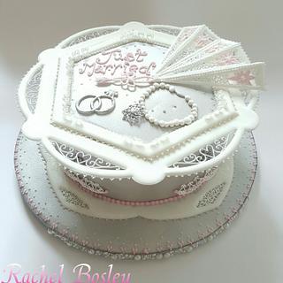 Royal iced Wedding Cake - Cake by Rachel Bosley