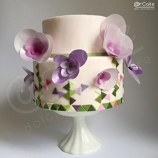 Simplicity - Cake by maria antonietta motta - arcake -