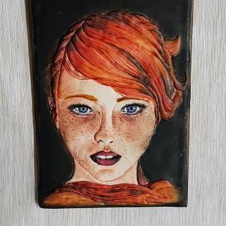 Girl - Cake by Sladky svet