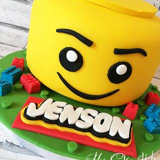 Jensons Lego! - Cake by Leigh Medway
